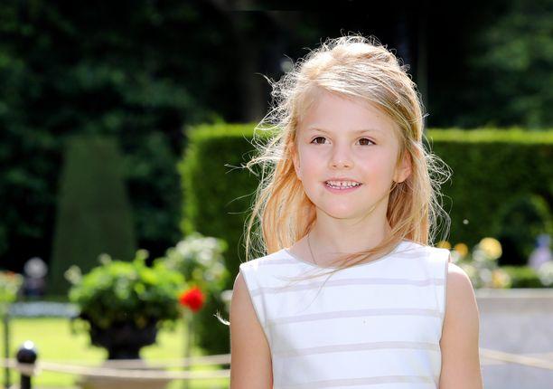 Estelle aloitti elokuussa esikoulun.