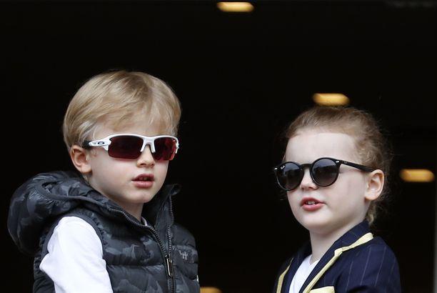 Monacon ruhtinasparin kaksoset ovat 5-vuotiaita.