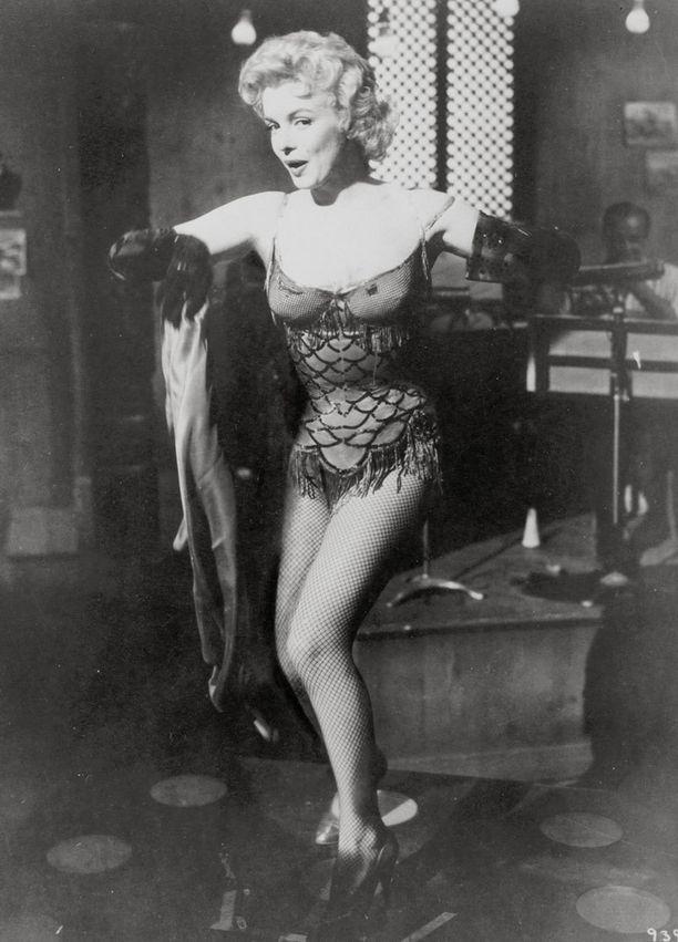 Marilyn Monroen tyylinäyte vuodelta 1956.
