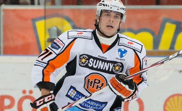 Marko Luomala pelasi HPK:ssa kaudet 2011-13.