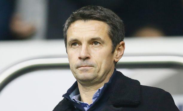 Rémi Garde otti Aston Villa -haasteen vastaan.