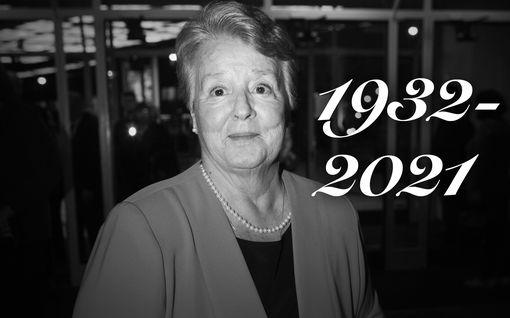 Pirkko Liinamaa, 88, on kuollut