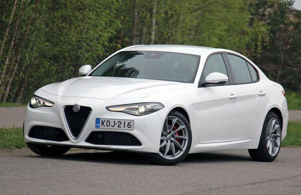 Alfa Giulian ilme on äreä.