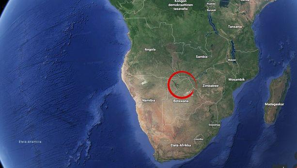 Tuoreen tutkimuksen mukaan ihmisen alkukoti on Botswanan pohjoisosissa.