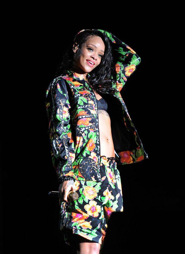 Rihanna on myös keikkaillut Suomessa.