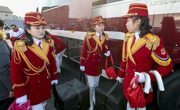 Pohjois-Korean tanssijoilla ei ole rauhaa olympiakisoissa.