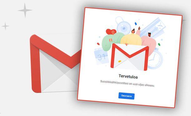 Google on uudistanut Gmail-sähköpostinsa.