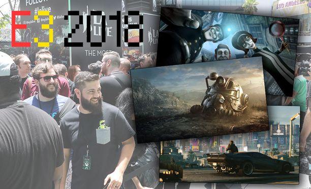 E3-messut ovat käynnissä Los Angelesissa.