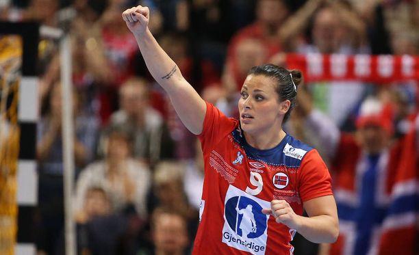 Nora Mörk, 26, on Norjan käsipallomaajoukkueen kirkkain tähti.