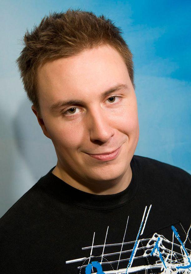 Vesa Suonto osallistui Idols-ohjelmaan vuonna 2008.