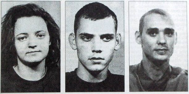 Beate Zschäpen, Uwe Böhnhardtin ja Uwe Mundlosin epäillään perustaneen äärioikeistolaisen NSU-ryhmän.