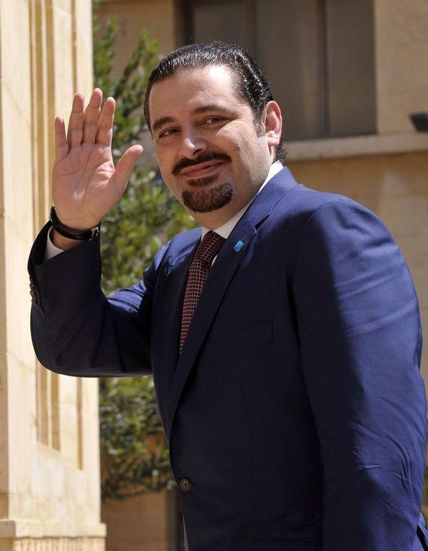 Saad Hariri on päässyt EU:n alueelle. Arkistokuva.