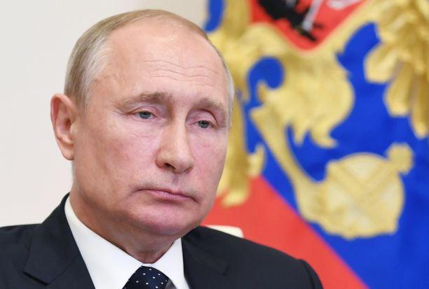 Venäjän presidentti Vladimir Putin on 67-vuotias.