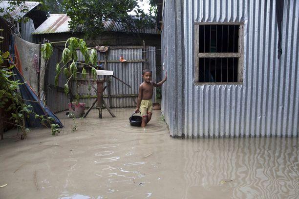 Monsuunisateet ovat vaikuttaneet miljoonien ihmisten elämään ja toimeentuloon Etelä-Aasiassa.
