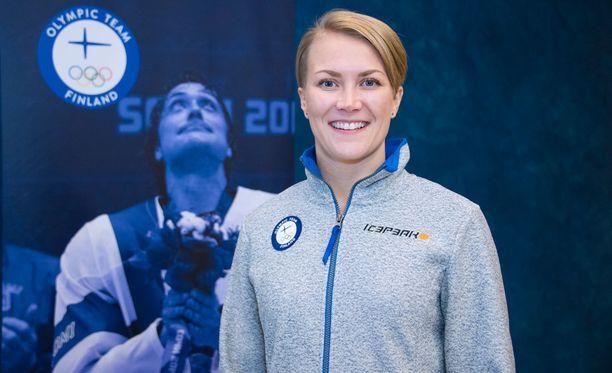 Venla Hovi lähtee uransa kolmansiin olympialaisiin.