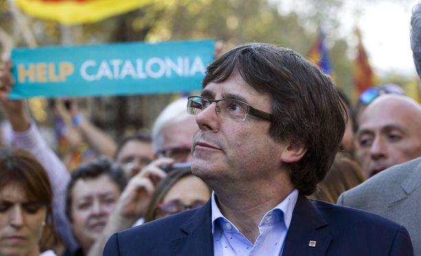 Carles Puigdemontista on tullut Katalonian itsenäisyysliikkeen näkyvin hahmo.