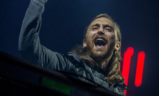David Guetta oli RMJ:n pääesiintyjä.