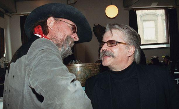 Topi Sorsakoski ja Pedro Hietanen tekivät monta vuotta yhteistyötä.
