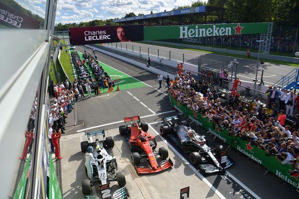 Yleisö ei ole pääsemässä näkemään GP-kilpailuita paikan päällä.