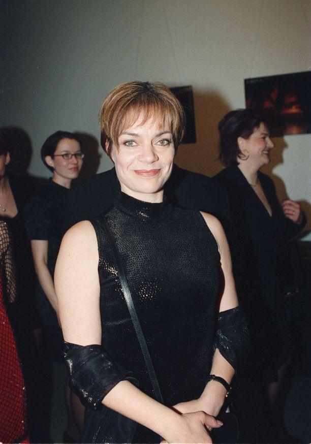 Lena Meriläinen vuonna 1999...