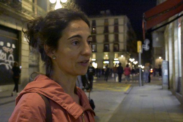 Carme kertoo kannattavansa Katalonian itsenäisyyttä, koska Espanjan keskushallinto on pettänyt lupauksensa liian usein.