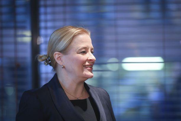 Finanssialan (FA) toimitusjohtaja Piia-Noora Kauppi.