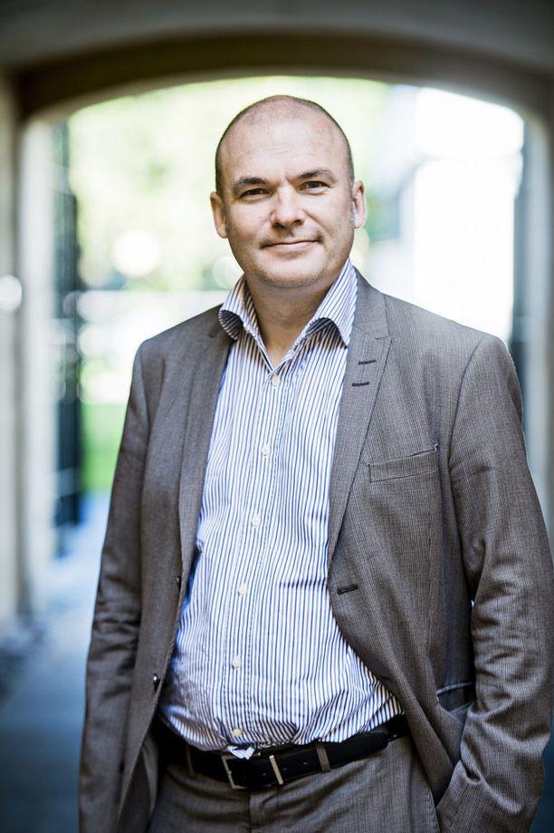 Kansainvälisen politiikan professori Tuomas Forsberg kuvattuna vuonna 2015.
