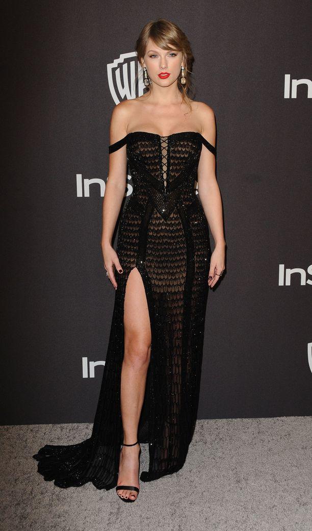 Taylor Swift Golden Globe -gaalan jatkoilla.