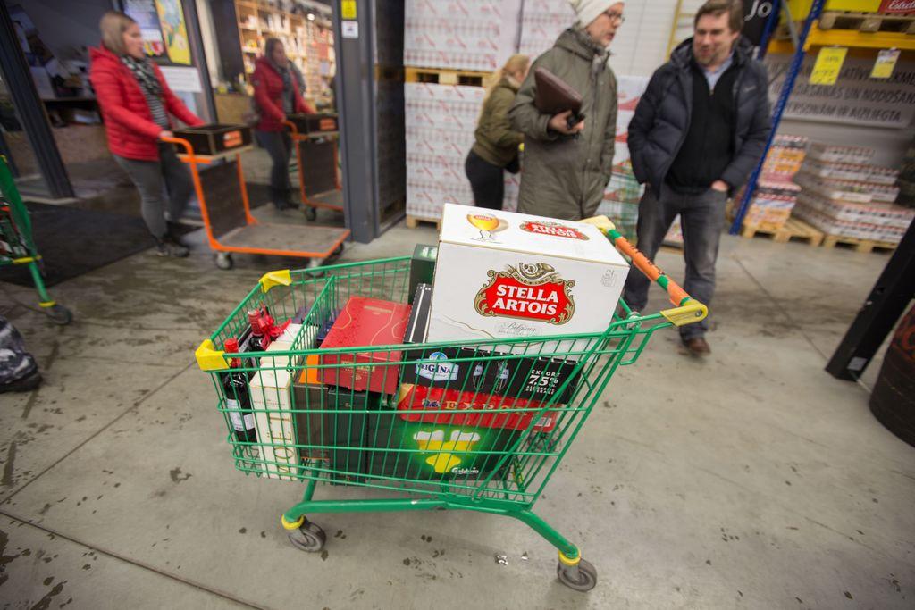 Juomat Latviasta