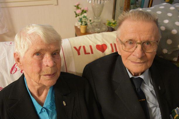 Eila ja Hemmi Jaara rakastuivat ensisilmäyksellä.
