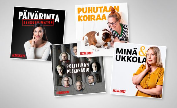 Iltalehden ensimmäiset podcastit käynnistyvät tällä viikolla.
