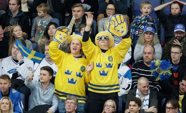 Ruotsissa innostuttiin Tre Kronorin hyvistä otteista. Arkistokuva.