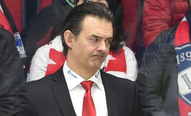 Mikael Kotkaniemi otti vetovastuun Ässissä.