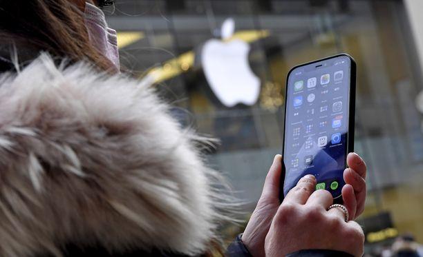 Apple kehittää omaa 5G-teknologiaa.