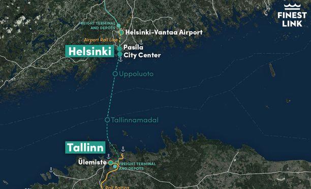 FinEst Link -projektin tulosten mukaan Helsingin ja Tallinnan välinen tunneli mahdollistaisi päivittäisen työssäkäynnin Suomenlahden molemmin puolin.