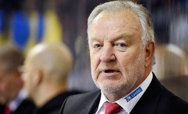 Pekka Rautakallio oli tyytyväinen mies, kun Ässät sai tappioputkensa poikki.