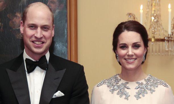 Prinssi William ja Cambridgen herttuatar Catherine.