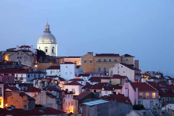 Lissabonista löytyy kiinnostavaa, historiallista tunnelmaa.
