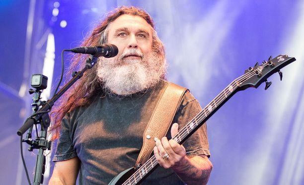 Tom Araya on luotsannut Slayeria sen perustamisesta vuonna 1981 lähtien.