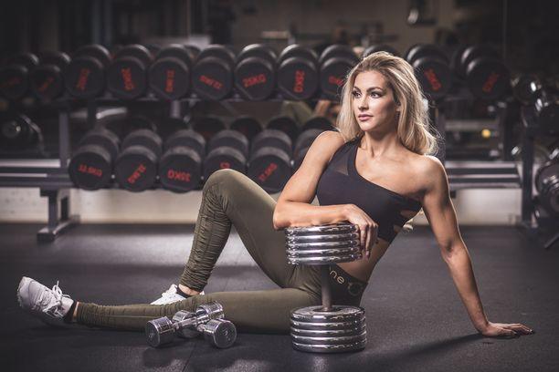 Valmentaja kehuu, että Melina Keltaniemi on todella tunnollinen urheilija.