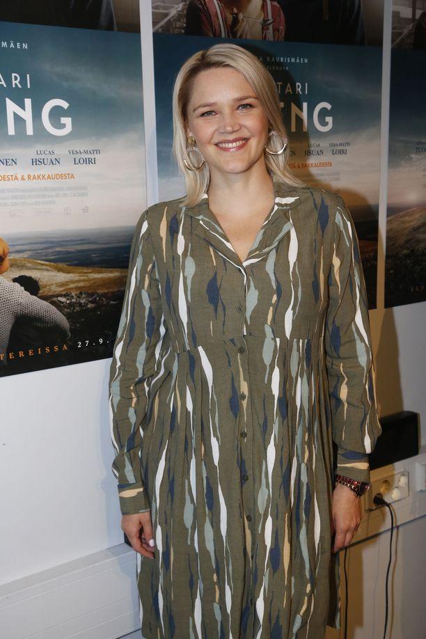 Anna-Maija Tuokko on onnellinen toisen lapsen syntymästä.
