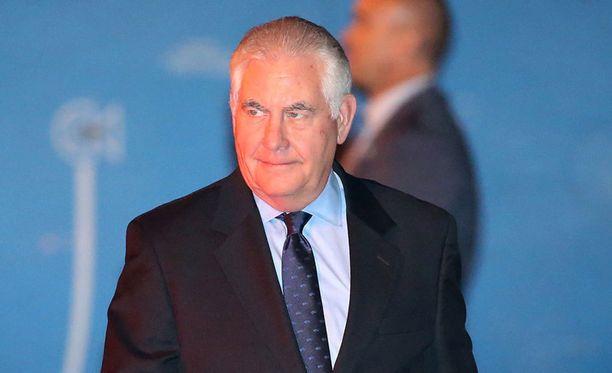 Yhdysvaltain ulkoministeri Rex Tillerson toivoo sovun löytyvän.