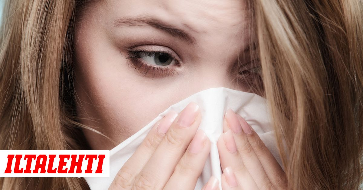 Flunssa Silmät Vuotaa