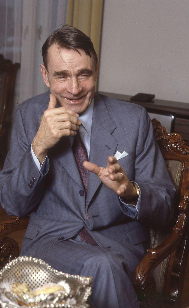Mauno Koivisto muistetaan karismaattisena ja myös huumorintajuisena miehenä.