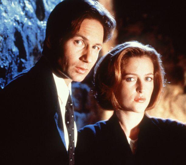 Vuonna 1998 Mulder ja Scully näyttivät tältä.