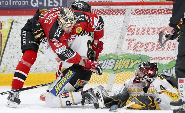 Jussi Rynnäs oli ohittamaton.