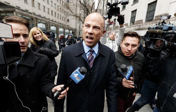 Michael Avenatti on esiintynyt julkisuudessa Trumpin kiivaana kriitikkona.