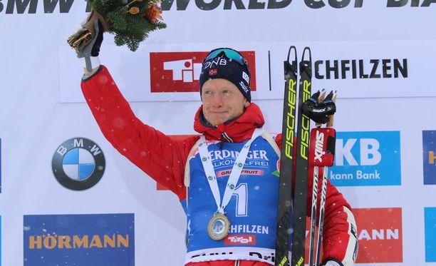 Johannes Thingnes Bö voitti jälleen.