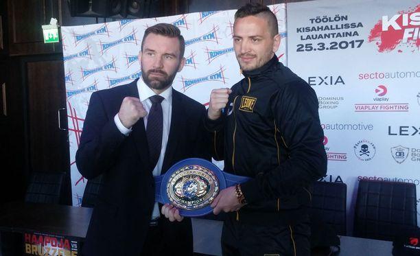 Juho Haapoja ja Bruzzese nyrkkeilevät lauantaina EU-mestaruudesta