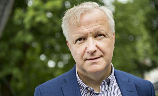 Olli Rehn valittiin Suomen Pankin johtokuntaan lokakuussa 2016.